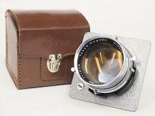 Horseman P.T Tokyo Kogaku 18cm F5.6 Lens with Board and Case. Stock No u11312