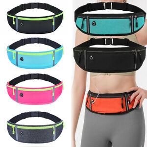 Jogging Running Cycling Gym Bum Bag Travel Waist Belt Pouch Sports Phone Holder
