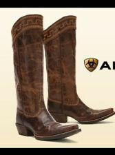 Ariat Sahara Cowboy riding  Boots new brown sz. 9