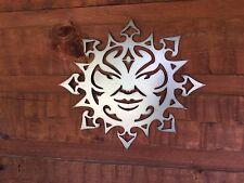 Southwest Sun Face   Metal Wall Art Home Decor Outdoor Patio Garden