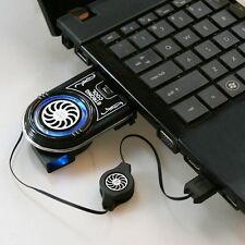 Mini Vacuum LED USB Aire Frío Extracción Base Enfriadora Ventilador