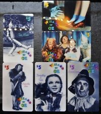 1995 WIZARD OF OZ *RARE* 6 Phone Cards 1st Limited Issued - Part #1 -UNUSED&MINT