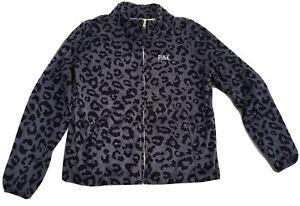 PINK BY Victoria Secrets  Lounge Wear Top Size L - Animal Print Theme     Ref10*