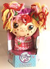 Flip Zee Girls Zana Very Berry Strawberry 2-in-1 Plush Soft Cloth Toy New Doll