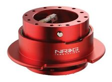 NRG Steering Wheel Quick Release Gen 2.5 Red Color