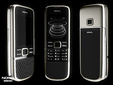 Nokia 8800 Carbon Arte Black 8800e 3G UMTS 2100 3MP Bluetooth 4GB Mobile phone