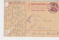 switzerland 1910 carte postale stamps card ref 20373