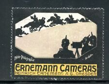 Germany Photography Poster Stamp Erinemann Cameras Dresden Military theme pictur