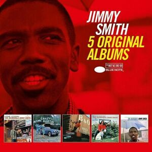 JIMMY SMITH 5CD NEW Home Cookin'/Crazy! Baby/Midnight Special/Chicken/Softly As