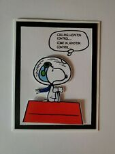 SNOOPY CALLING HOUSTON CONTROL COME IN ,HOUSTON CONTROL