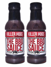 Killer Hogs The BBQ Barbecue Sauce 18 oz (2 Pack)