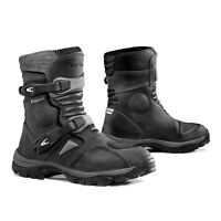 motorcycle boots   Forma Adventure Low black adv waterproof touring dual road
