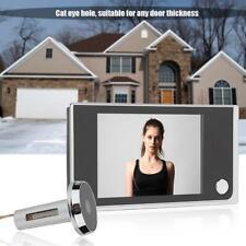 "3.5"" LCD Digital 120° Peephole Viewer Monitoring Electronic Cat Eye Camera NEW"