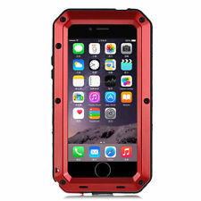 Shockproof Waterproof Aluminum Glass Metal Case Cover for iPhone 7 & 7 Plus