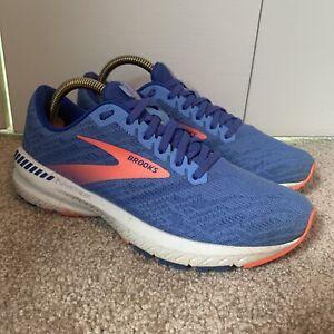 Brooks Ravenna 11 Running Walking Shoes Women's Size 8 Blue Orange