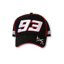 Marc Marquez 93 Paddock Cap - Official VR46 Moto GP Black