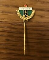 Badge OSZHE épingle / insigne vintage ❤️ OSZHE Vintage Lapel / Hat Pin Badge