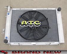 """3 ROW Aluminum Radiator + 14"""" Fan for Holden Commodore VG VL VN VP VR VS V8"""