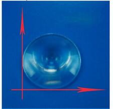 2pcs 30mm Round Mini Plastic Optic Pmma Solar Fresnel Condensing Lens Fl15Mm