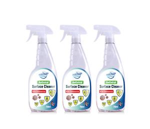 Household Magic Antiviral Surface Cleaner 3 x 750ml Kills 99.9% viruses