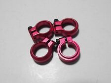 Kyosho Optima 2016 12mm red alloy shock clamp set