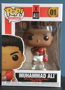 Funko Pop Muhammad Ali 01 super RARE