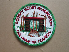Rodney Scout Reservation BSA Woven Cloth Patch Badge Boy Scouts Scouting