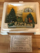 Milestones The Hummelscapes Collection Goebel 1999 Clock Limited Edition New