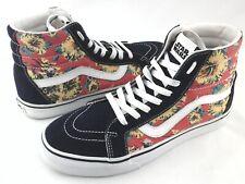 VANS x Star Wars Sk8-Hi Sneakers Yoda Aloha Floral Shoes Men's US 8.5 Women's 10
