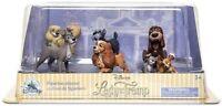 Disney Lady & Le Clochard Ensemble De 6 Debout Figurines Figurine Coffret