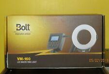 Bolt VM-160 LED Macro Ring Light flash, For Sony E mount digital cameras