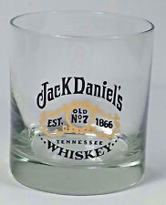 Jack Daniel's Whiskey Bar Glass 8 oz EST 1866 Old No 7 Tennessee