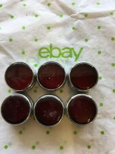 lot 6 Dialight Red Flat face lens, 051-0231-300