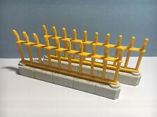 PLAYMOBIL –  2 grandes barrières pour cage de zoo / Fence section / 3240 4093