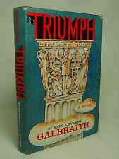 Vtg 1968 1st Edition  Print John Galbraith The Triumph Novel of Modern Diplomacy