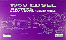 1959 Edsel Electrical Assembly Manual Wiring Diagrams 59 Ranger Corsair Villager