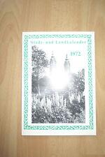 Stadt,- Landkalender Lichtenfels und Staffelstein ,1972, 128 Seiten
