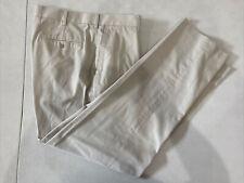 Perry Ellis Men's White Solid Dress Pants 36X31 $98