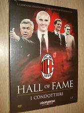DVD N° 12 I CONDOTTIERI AC MILAN HALL OF FAME CAPELLO ANCELOTTI SACCHI  ROCCO