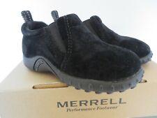 Merrell Jungle Moc Jr Toddler Slip On Shoes 60029 Black Size 6 #0201