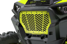 Custom Grille for 17+ Polaris RZR Turbo 1000 XP ATV Grill V-STRIPES LIME SQUEEZE