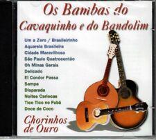 Os Bambas Do Cavaquinho e Do Bandolim Chorinhos De Ouro   BRAND  NEW SEALED CD