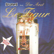 FLUCHTWEG Feat. DER ARZT Le figur CD (1996TollShock) Neu!