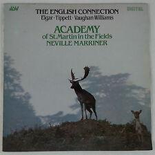 The English Connection: Elgar/Tippett/Vaughan Williams-Marriner & ASMF UK ASV NM