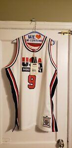 100% Authentic Michael Jordan Mitchell & Ness 92 USA Jersey Size 52 XXL New