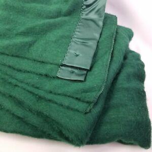 Sunbeam Twin Heated Electric Blanket Single Control Forest Hunter Green