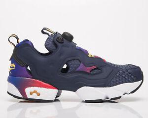 Reebok Classics InstaPump Fury OG Men's Black Navy Red Lifestyle Sneakers Shoes