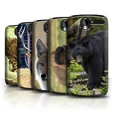STUFF4 Back Case/Cover/Skin for HTC Desire G7/North America Animals