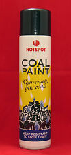 Black Coal Paint, Rejuvernate Faded Gas Fire Coals & Logs, Heat resistant 1200F