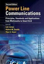 POWER LINE COMMUNICATIONS - LAMPE, LUTZ (EDT)/ TONELLO, ANDREA M. (EDT)/ SWART,